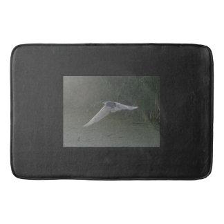 Black-Crowned Night-Heron Bathroom Mat