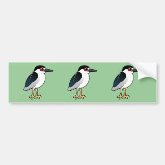 Black-crowned Night Heron Bumper Sticker