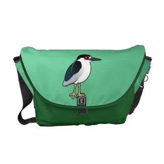 Black-crowned Night Heron Courier Bag