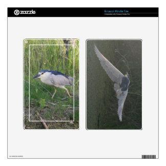 Black-Crowned Night-Heron Kindle Skin