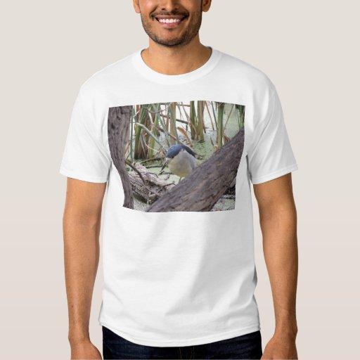 Black Crowned Night Heron Male T-shirt