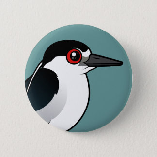 Black-crowned Night Heron Pinback Button