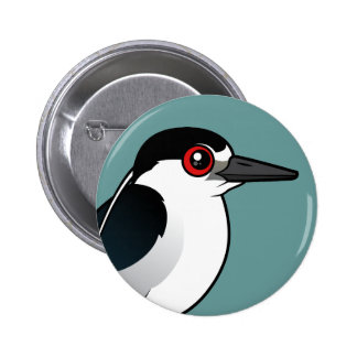 Black-crowned Night Heron Pinback Button