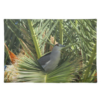 Black-Crowned Night Heron Place Mat