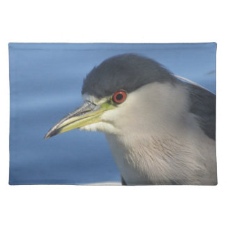 Black Crowned Night Heron Placemat