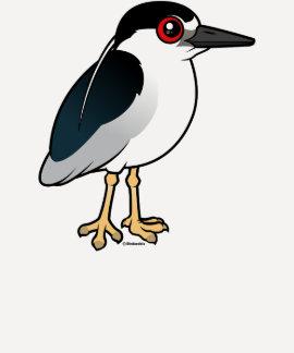Black-crowned Night Heron Shirt
