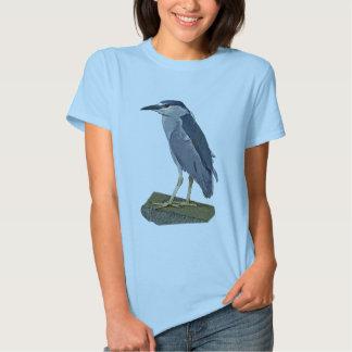 Black-crowned Night Heron T-Shirt