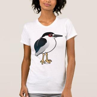 Black-crowned Night Heron Tee Shirt