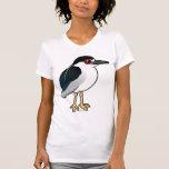 Black-crowned Night Heron Tshirt