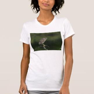 Black Crowned Night Heron T-shirt