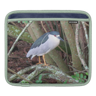 Black-Crowned Night-Heron with Breeding Plume Sleeve For iPads