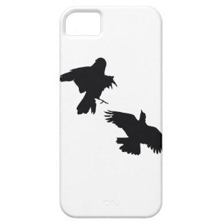 Black Crows iPhone 5 Case-Mate Barely There