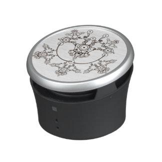 Black crystal design bluetooth speaker