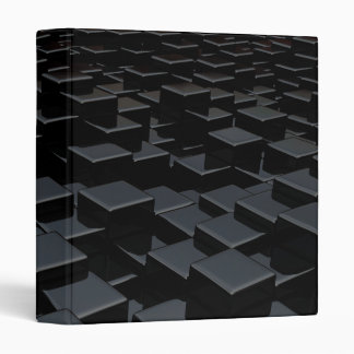 Black cube world Avery Binder