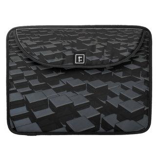 Black cube world Macbook Pro Flap Sleeve Sleeve For MacBooks