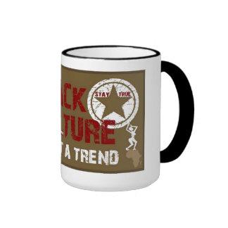 Black Culture coffee mug