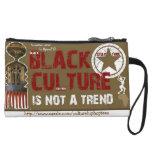 Black Culture not a Trend cell phone pouch Wristlet Purse