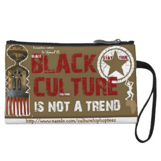 Black Culture not a Trend cell phone pouch Wristlet Wallet