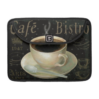 Black Cup of Coffee MacBook Pro Sleeve