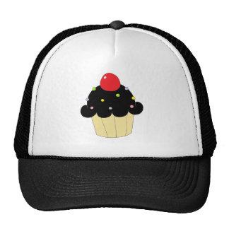 Black Cupcake Trucker Hat
