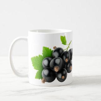 Black currants coffee mug