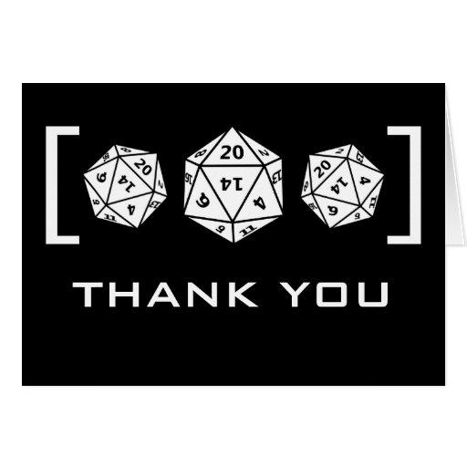 http://rlv.zcache.com/black_d20_dice_gamer_wedding_thank_you_card-reb76fcfde62a41e99ccda24a1d13d7ad_xvua8_8byvr_512.jpg