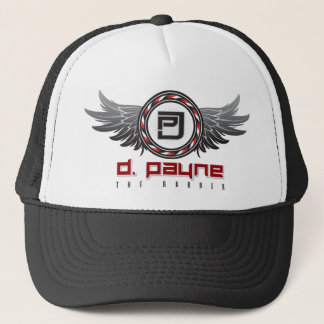 Black D. Payne the Barber Hat