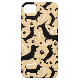 Black dachshund iPhone SE/5/5s case