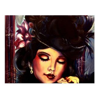 Black Dahlia Postcard