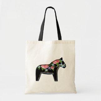 Black Dala Horse bag