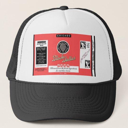 Black Dallas Beer Manhattan Brewing Chicago Trucker Hat