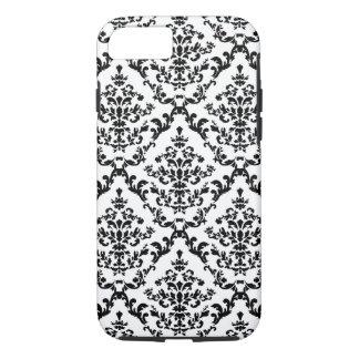 Black Damask #4 @ Stylnic iPhone 7 Case