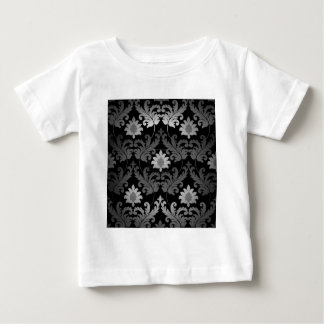 BLACK DAMASK BABY T-Shirt