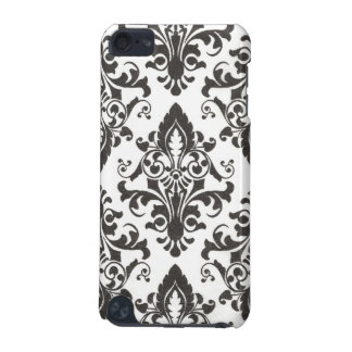 Black Damask IPod Touch Case iPod Touch 5G Case
