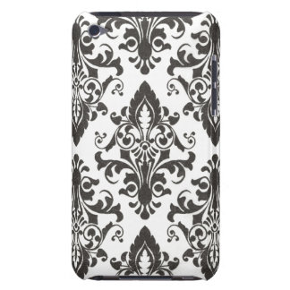 Black Damask IPod Touch Case iPod Touch Case