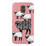Black Damask Sheep Galaxy S5 Case