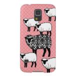 Black Damask Sheep Galaxy S5 Cover