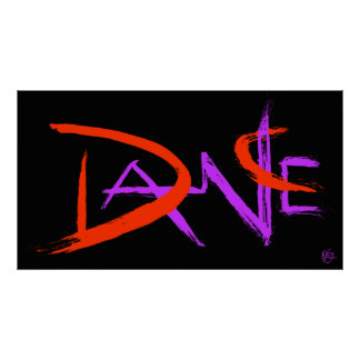 Black Dance Poster