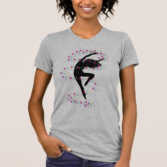 Black Dancer & Stars T-Shirt