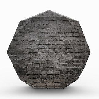 black dark brick wall awards