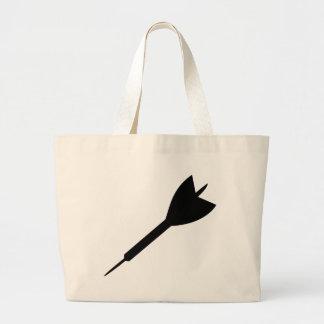 black dart icon bag