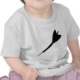 black dart icon tshirt