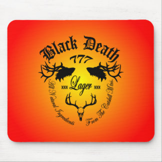 Black Death 777 - Catskill Mountain Lager Mouse Pad