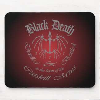 Black Death 777 - Catskill Mountains Mouse Pad