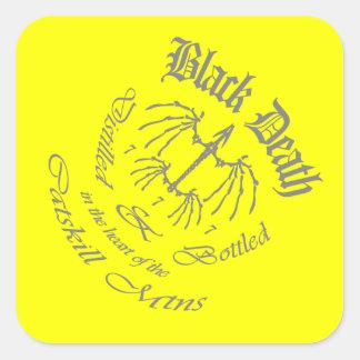 Black Death 777 - Catskill Mountains Square Sticker