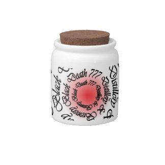 Black Death 777 - Circles Candy Jar