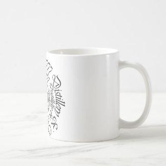Black Death 777 - Circles Coffee Mug