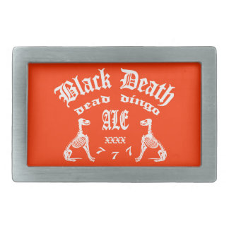 Black Death 777 -  Dead Dingo Ale Belt Buckle