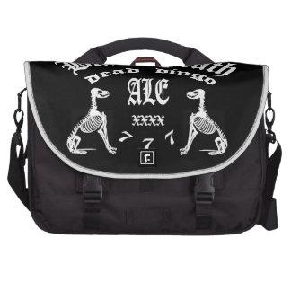 Black Death 777 -  Dead Dingo Ale Laptop Commuter Bag