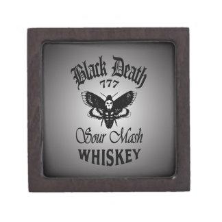 Black Death 777 - Death's Head Premium Keepsake Box